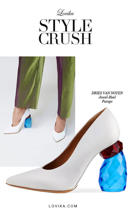 Lovika Style Crush - Jewel Heel Pumps