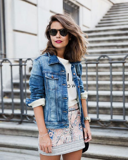 40 Stylish Denim Jacket Outfit Ideas for Spring