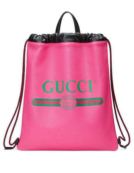 LOVIKA | Your new gym bag! Gucci drawstring backpack