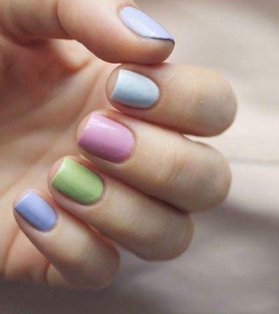 27 Easy Pastel Rainbow Nails to Copy (Get These Colors)