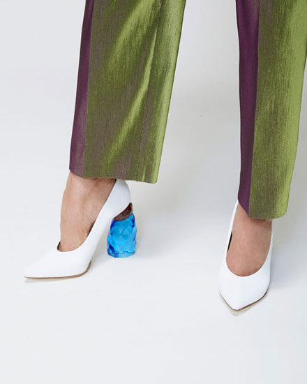 Lovika Style Crush - Jewel Heel Pumps