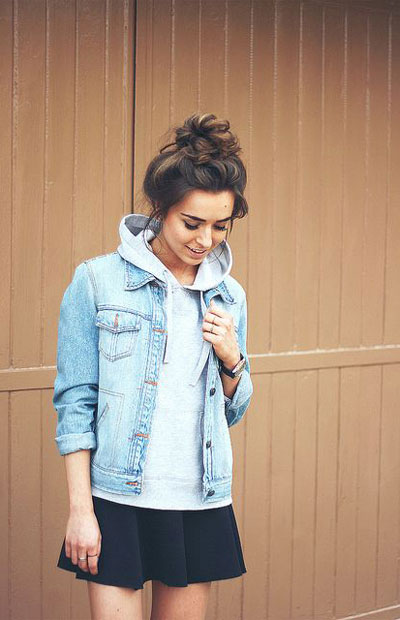 LOVIKA | 40 Stylish denim jacket outfit ideas to wear this Spring #casual