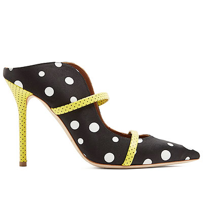 Polka Dot Addiction - Malone Souliers x Emanuel Ungaro | Shop the shoe collection @Lovika