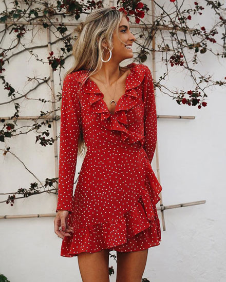 This Red Dress Is EVERYWHERE on Pinterest Right Now