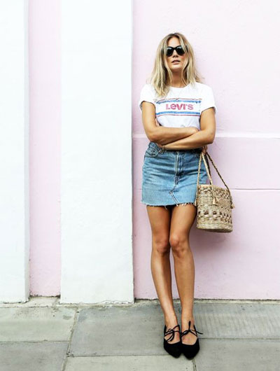 How to wear a straw tote bag this Summer   45 outfit ideas at Lovika
