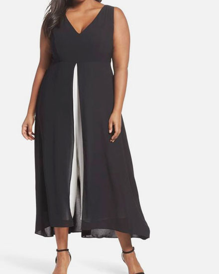 This Plus-Size Jumpsuit Has The PERFECT Rating