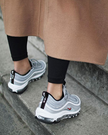 reputable site a82df 16aa7 Fashion Girl Outfits – Nike Air Max 97 Sneakers