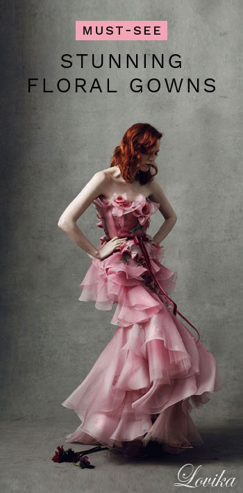 7 Absolutely Stunning Floral Gowns You Must See | Lovika