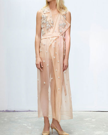 Sheer perfection - Shop Jason wu dresses at Lovika