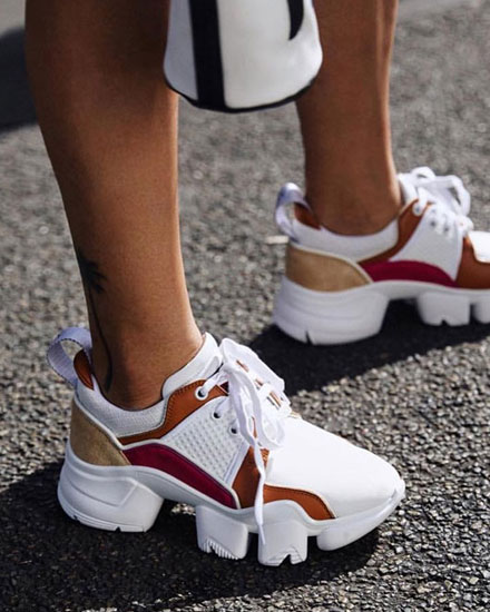 The Chunkier The Better | See BEST Fashion Sneakers at Lovika
