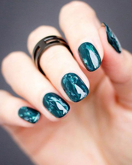 145 Beautiful Marble Nails to Copy Right Now