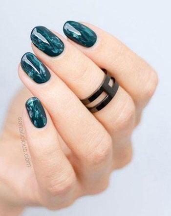 145 Beautiful Marble Nails Design Ideas to Try at Home | See ALL at Lovika