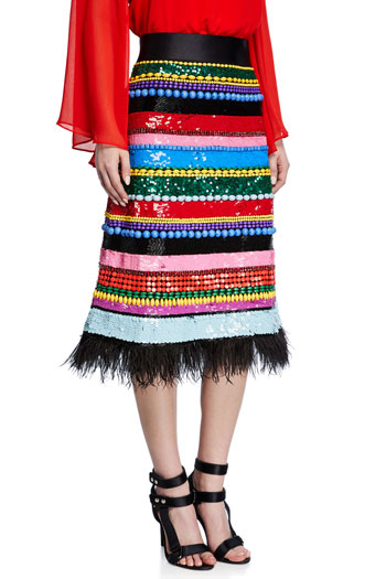 20 Spring Midi Skirts of Our Dreams   Lovika