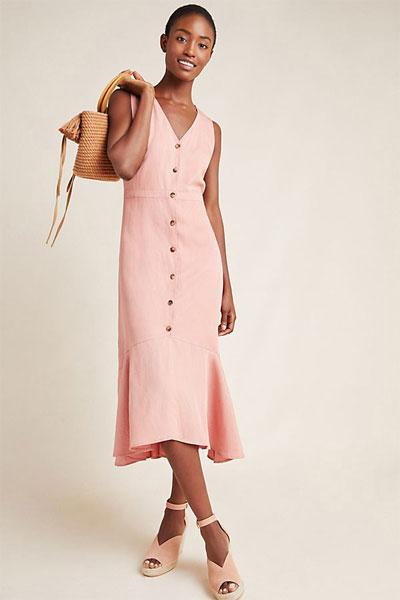 9 Prettiest Linen Dresses for a Minimalist   Shop at Lovika