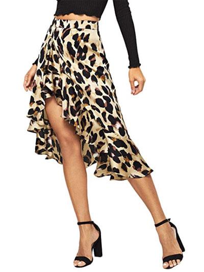 Amazon Finds - 8 Stylish Leopard Print Skirts   LOVIKA