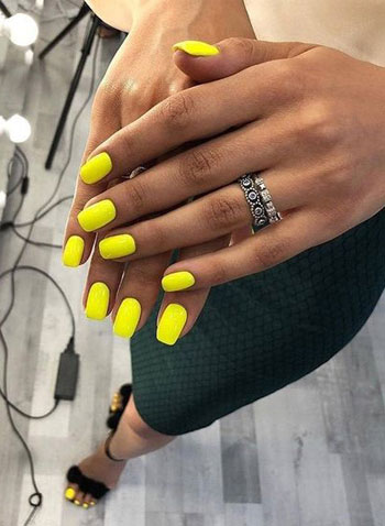 77 Bright Neon Nails To Try This Summer