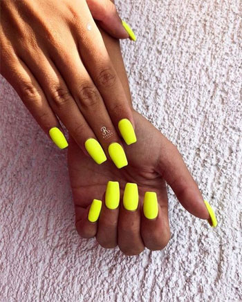 77 Bright Neon Nails to Try This Summer | LOVIKA