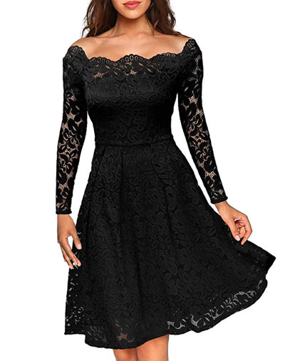 Fall Wedding Guest Dress? Get This $43 Amazon Dress   LOVIKA