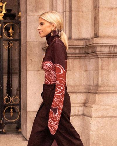So. Many. Likes - Tie Dye Sheer Turtleneck Must-Haves | LOVIKA