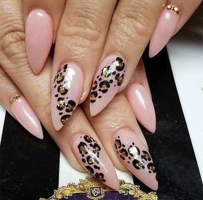 33 Leopard Nails Design Ideas to Try This Fall | LOVIKA